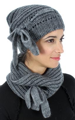 aspect esthétique usine authentique nouvelle arrivée Echarpe de marque Femme - Gants Femme - Bonnet Femme ...